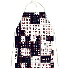 Abstract city landscape Full Print Aprons