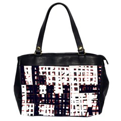 Abstract city landscape Office Handbags (2 Sides)
