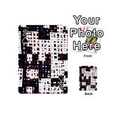 Abstract city landscape Playing Cards 54 (Mini)