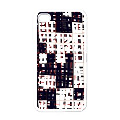 Abstract city landscape Apple iPhone 4 Case (White)