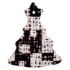 Abstract city landscape Christmas Tree Ornament (2 Sides)