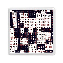 Abstract city landscape Memory Card Reader (Square)