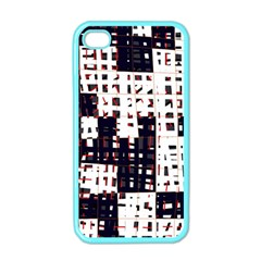 Abstract city landscape Apple iPhone 4 Case (Color)
