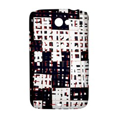 Abstract city landscape HTC ChaCha / HTC Status Hardshell Case
