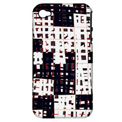 Abstract city landscape Apple iPhone 4/4S Hardshell Case (PC+Silicone)