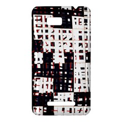 Abstract city landscape HTC One SU T528W Hardshell Case