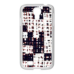 Abstract city landscape Samsung GALAXY S4 I9500/ I9505 Case (White)