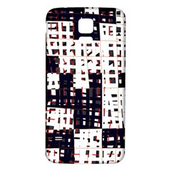 Abstract city landscape Samsung Galaxy S5 Back Case (White)