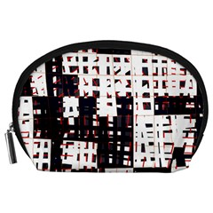 Abstract city landscape Accessory Pouches (Large)
