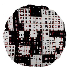 Abstract city landscape Large 18  Premium Flano Round Cushions