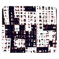 Abstract city landscape Double Sided Flano Blanket (Small)