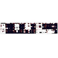 Abstract city landscape Flano Scarf (Large)