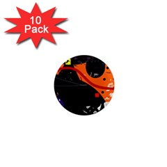 Orange dream 1  Mini Magnet (10 pack)