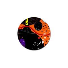 Orange dream Golf Ball Marker (10 pack)