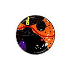 Orange dream Hat Clip Ball Marker (4 pack)