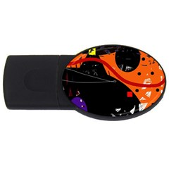 Orange dream USB Flash Drive Oval (4 GB)