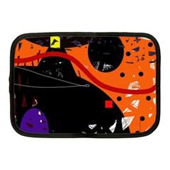 Orange dream Netbook Case (Medium)