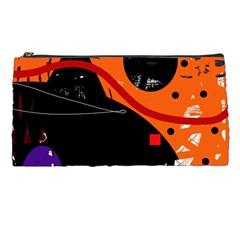 Orange dream Pencil Cases
