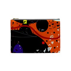 Orange dream Cosmetic Bag (Medium)