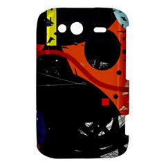 Orange dream HTC Wildfire S A510e Hardshell Case