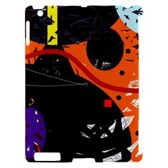 Orange dream Apple iPad 2 Hardshell Case (Compatible with Smart Cover)