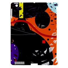 Orange dream Apple iPad 3/4 Hardshell Case (Compatible with Smart Cover)