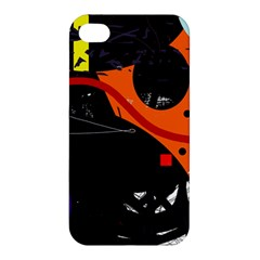 Orange dream Apple iPhone 4/4S Premium Hardshell Case