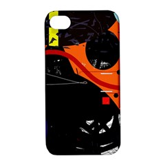 Orange dream Apple iPhone 4/4S Hardshell Case with Stand