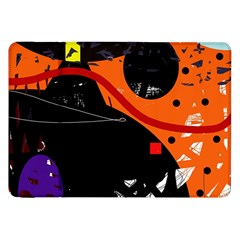 Orange dream Samsung Galaxy Tab 8.9  P7300 Flip Case