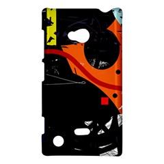 Orange dream Nokia Lumia 720