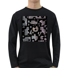 Elegant puzzle Long Sleeve Dark T-Shirts
