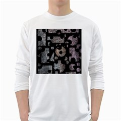 Elegant puzzle White Long Sleeve T-Shirts