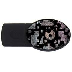 Elegant puzzle USB Flash Drive Oval (4 GB)