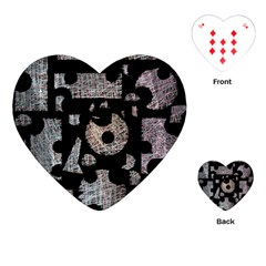 Elegant puzzle Playing Cards (Heart)