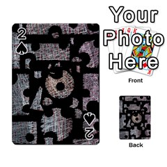Elegant puzzle Playing Cards 54 Designs