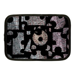 Elegant puzzle Netbook Case (Medium)