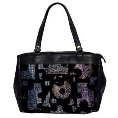 Elegant puzzle Office Handbags