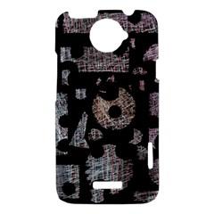 Elegant puzzle HTC One X Hardshell Case