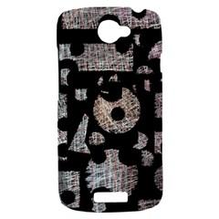 Elegant puzzle HTC One S Hardshell Case