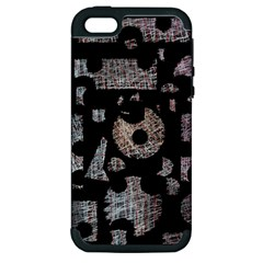 Elegant puzzle Apple iPhone 5 Hardshell Case (PC+Silicone)