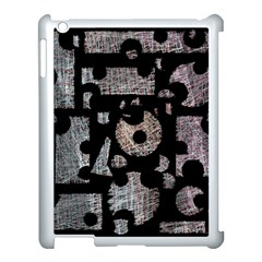 Elegant puzzle Apple iPad 3/4 Case (White)