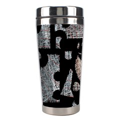 Elegant puzzle Stainless Steel Travel Tumblers