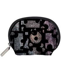 Elegant puzzle Accessory Pouches (Small)