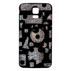 Elegant puzzle Samsung Galaxy S5 Back Case (White)