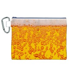 Beer Alcohol Drink Drinks Canvas Cosmetic Bag (XL)