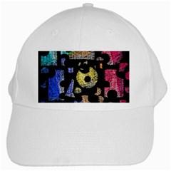 Colorful puzzle White Cap