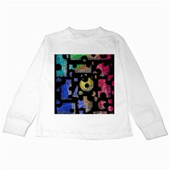 Colorful puzzle Kids Long Sleeve T-Shirts