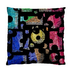 Colorful puzzle Standard Cushion Case (One Side)