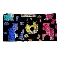 Colorful puzzle Pencil Cases