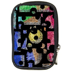 Colorful puzzle Compact Camera Cases